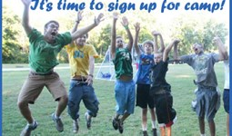 Registration now open at Conference camps